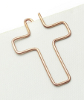 Büroklammer kirchliches Kreuz