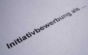 Initiativbewerbung schreiben