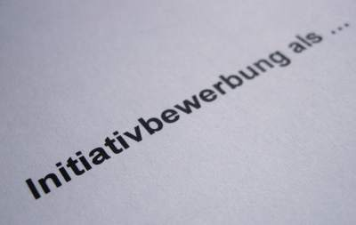 Initiativbewerbung Schreiben Bewerbungswissennet