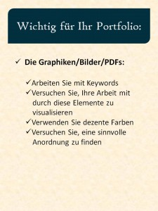 Portfolio PDF Bilder Grafiken