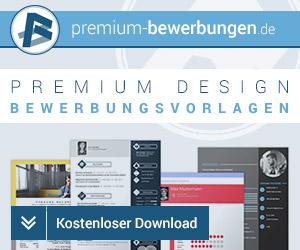 Entdecken Sie die professionellen Designs und Bewerbungsvorlagen von Premium-Bewerbungen.de
